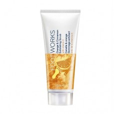 AVON FootWorks Orange and Cinnamon Exfoliating Scrub 75ml