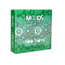 MOODS 1500 DOTS Condoms (Pack of 3)