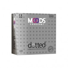 MOODS Dotted Condoms (Pack of 3)