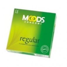 MOODS Regular Condoms (Pack of 3)