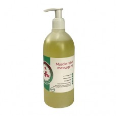 i-Spa Muscle Relief Massage Oil 500ml