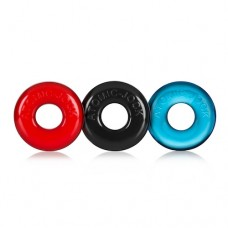 Oxballs Ringer 3 Pack Multi Color Cock Rings