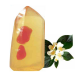 POD Carnelian Crystal Gemstone and Neroli Oil Glycerine Soap