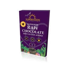 Superfoods Raw Chocolate Bar Zero Sugar 60g