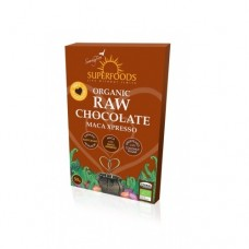 Superfoods Organic Raw Chocolate Bar Maca Xpresso 50g