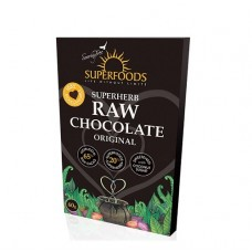 Superfoods Raw Chocolate Bar Original 60g