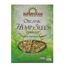 Superfoods Organic Hemp Seed Shelled 200g