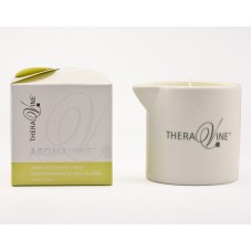 TheraVine AromaVine Lemon Zest Massage Candle Jar 100ml